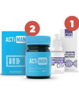 set actiman + peptide complex 9